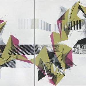 Through the Opening Door  Mona Series  Contemporary Art   Jane Barthès